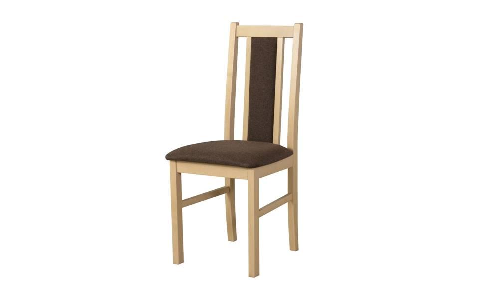 Sconto Jedálenská stolička BOLS 14 hnedá/dub sonoma