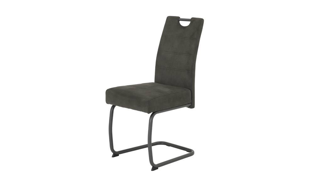 Sconto Jedálenská stolička FLORA VI S antracitová